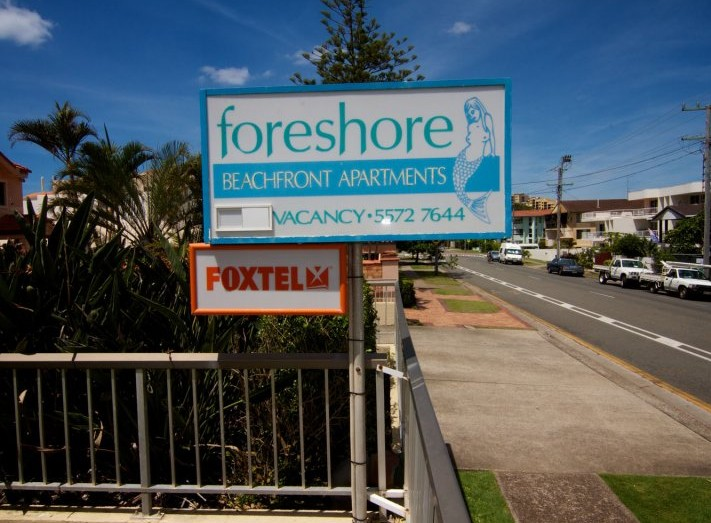 Foreshore Apartments Mermaid Beach - Accommodation Mt Buller