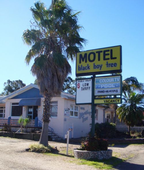 Blackboy Tree Motel