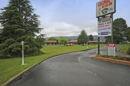 Colonial Motor Inn - Lithgow - Accommodation Mt Buller