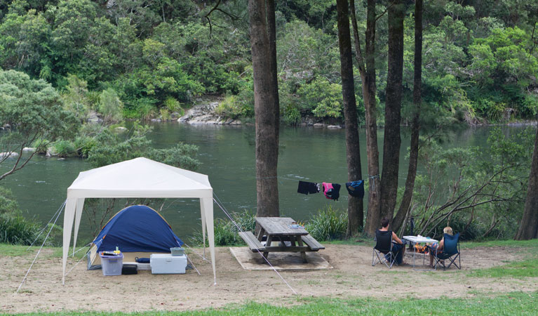 Platypus Flat campground - Accommodation Mt Buller