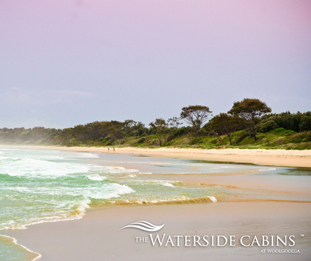 Waterside Cabins at Woolgoolga - Accommodation Mt Buller
