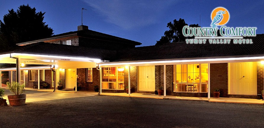 Country Comfort Tumut Valley Motel - Accommodation Mt Buller