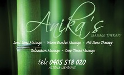 Anikas Massage Therapy - Accommodation Mt Buller