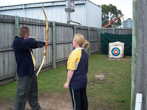 Bairnsdale Archery Mini Golf  Games Park - Accommodation Mt Buller