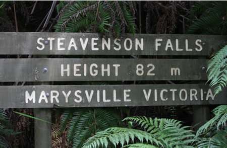 Stevensons Falls - Accommodation Mt Buller