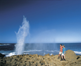 The Blowholes Carnarvon - Accommodation Mt Buller