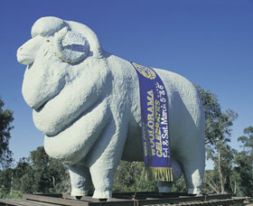 Giant Ram Tourist Park - Accommodation Mt Buller