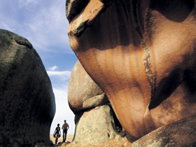 Murphy's Haystacks - Ancient Granite Rock - Accommodation Mt Buller