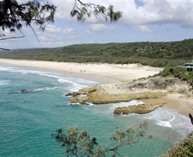 Main Beach North Stradbroke Island - Accommodation Mt Buller