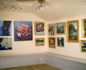 Ros McArthur Art Studio - Accommodation Mt Buller