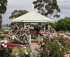 Morwell Centenary Rose Garden - Accommodation Mt Buller
