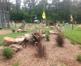 The Cove Miniature Golf Course - Accommodation Mt Buller
