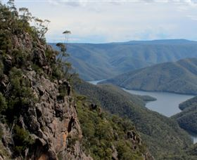Landers Falls Lookout - Accommodation Mt Buller
