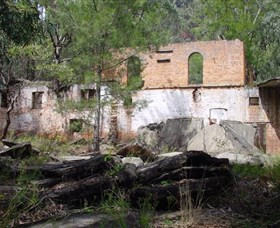 Newnes Shale Oil Ruins - Accommodation Mt Buller