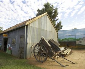 The Ned Kelly Blacksmith Shop - Accommodation Mt Buller
