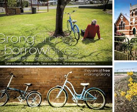 Grong Grong Borrow Bikes - Accommodation Mt Buller