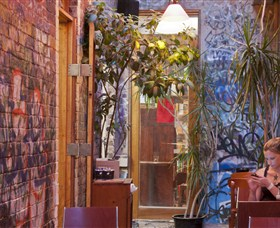 Sappho Books Cafe and Wine Bar - Accommodation Mt Buller