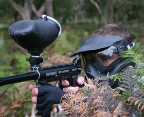 Tactical Paintball Games - Accommodation Mt Buller