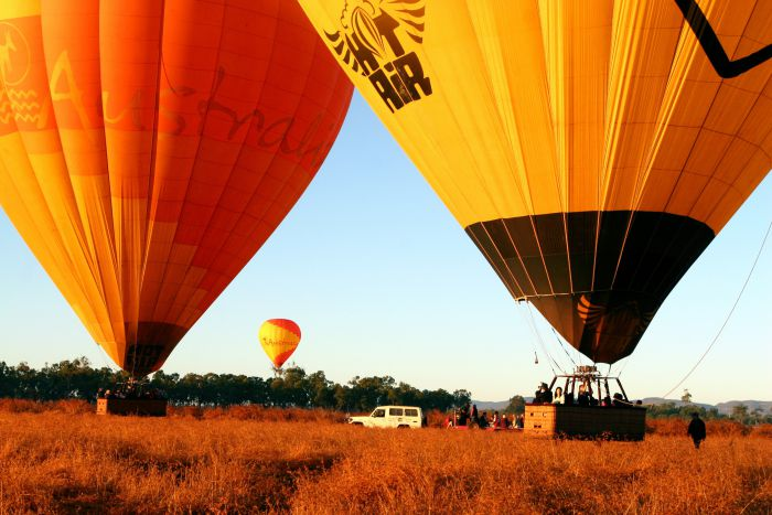 Hot Air Balloon Scenic Rim - Accommodation Mt Buller