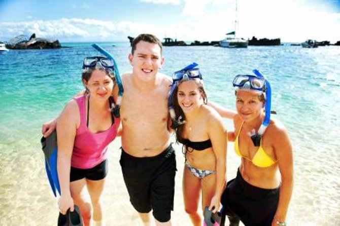 Moreton Island Snorkel and Sandboarding WD Day Trip from Brisbane
