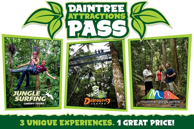 Daintree Atttractions Pass The Best of the Daintree in a Day - Accommodation Mt Buller