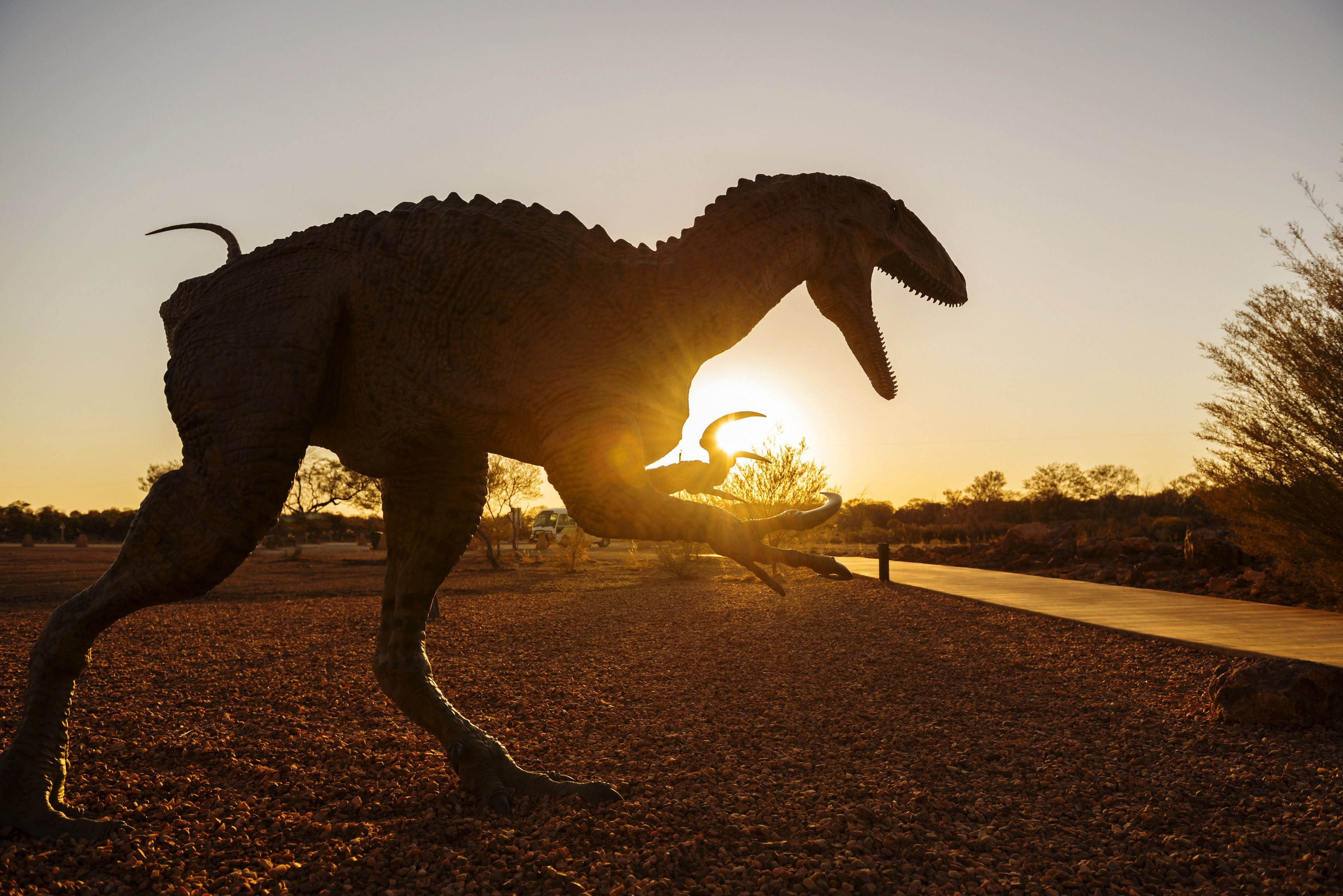 Australian Dinosaur Trail - Accommodation Mt Buller