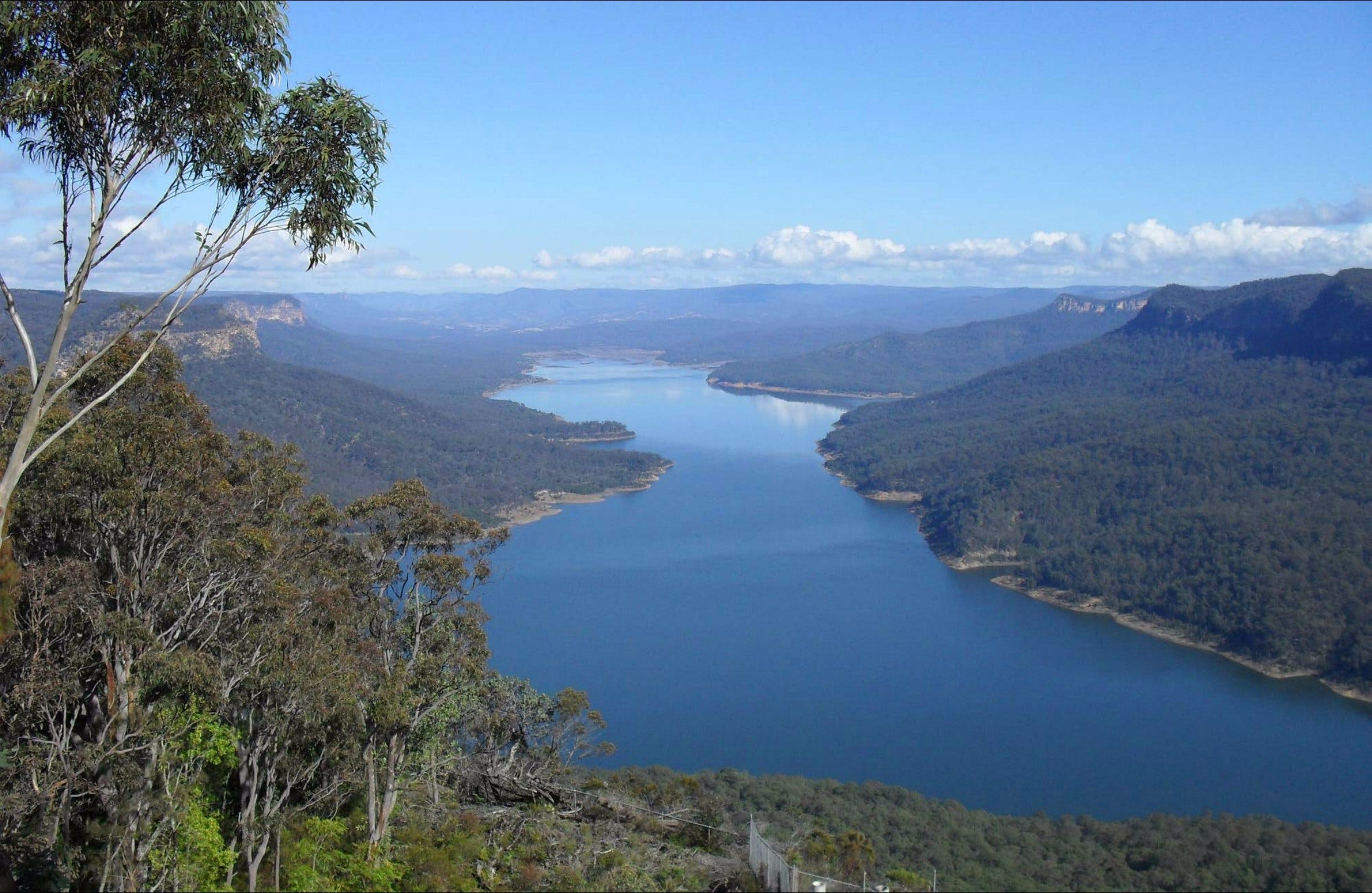 Burragorang lookout and picnic area - Accommodation Mt Buller