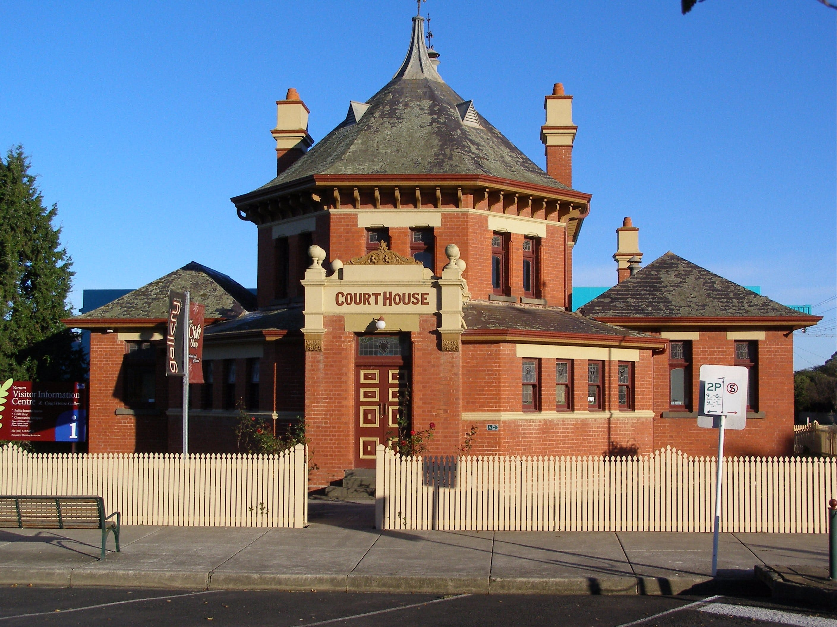 Yarram Courthouse Gallery - Accommodation Mt Buller