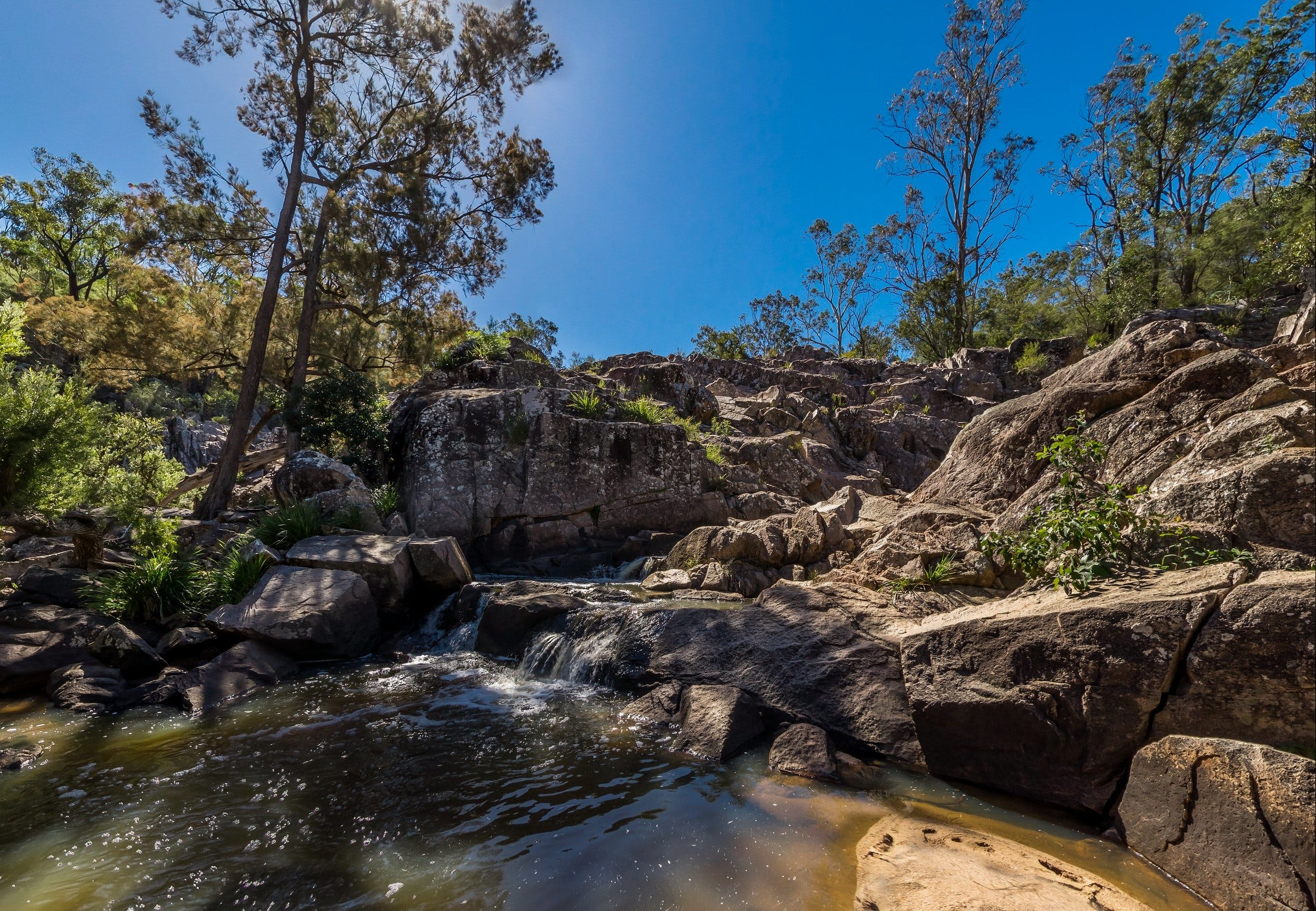 Crows Nest Falls - Accommodation Mt Buller
