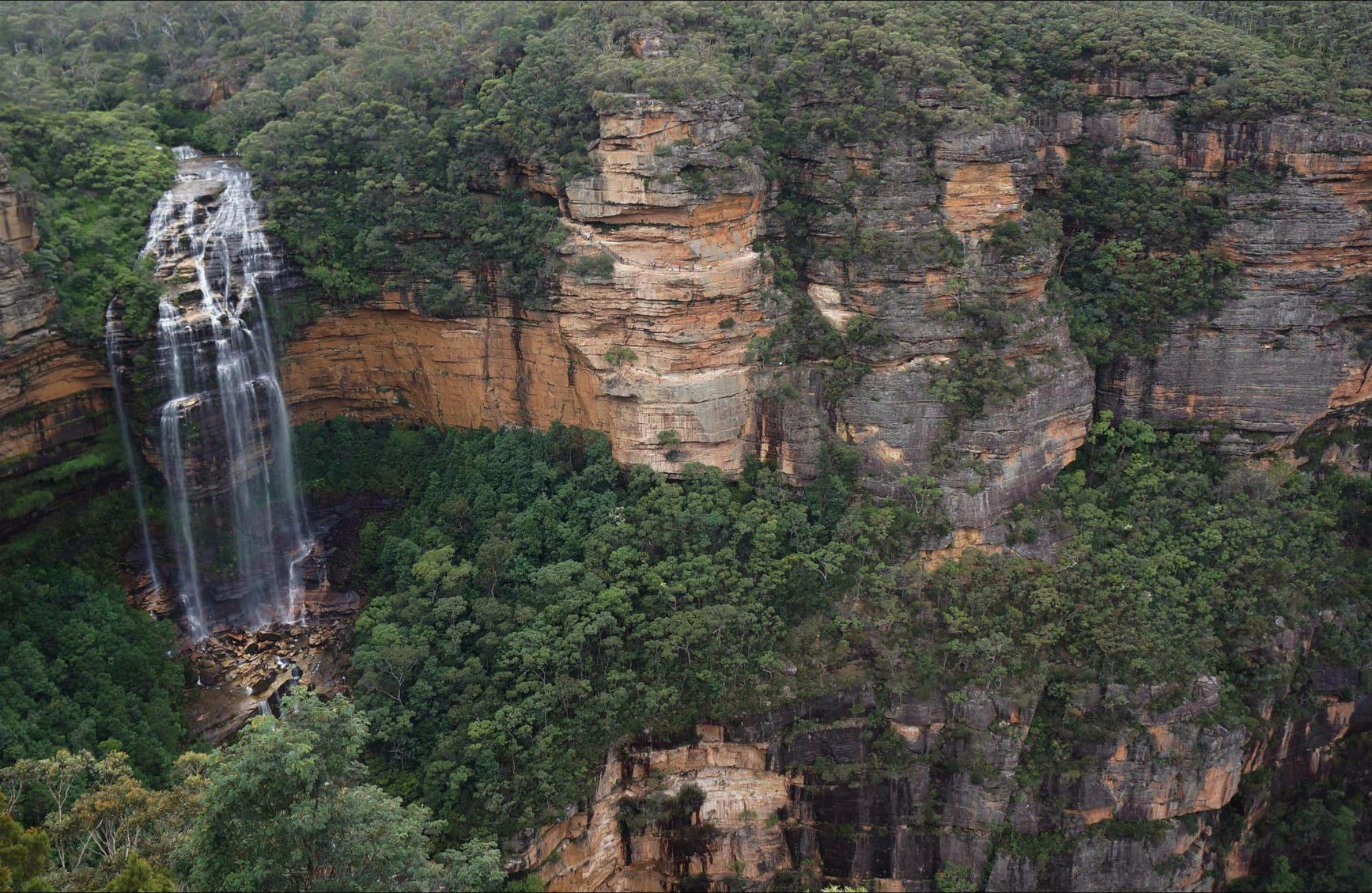 Wentworth Falls Lookout - Accommodation Mt Buller