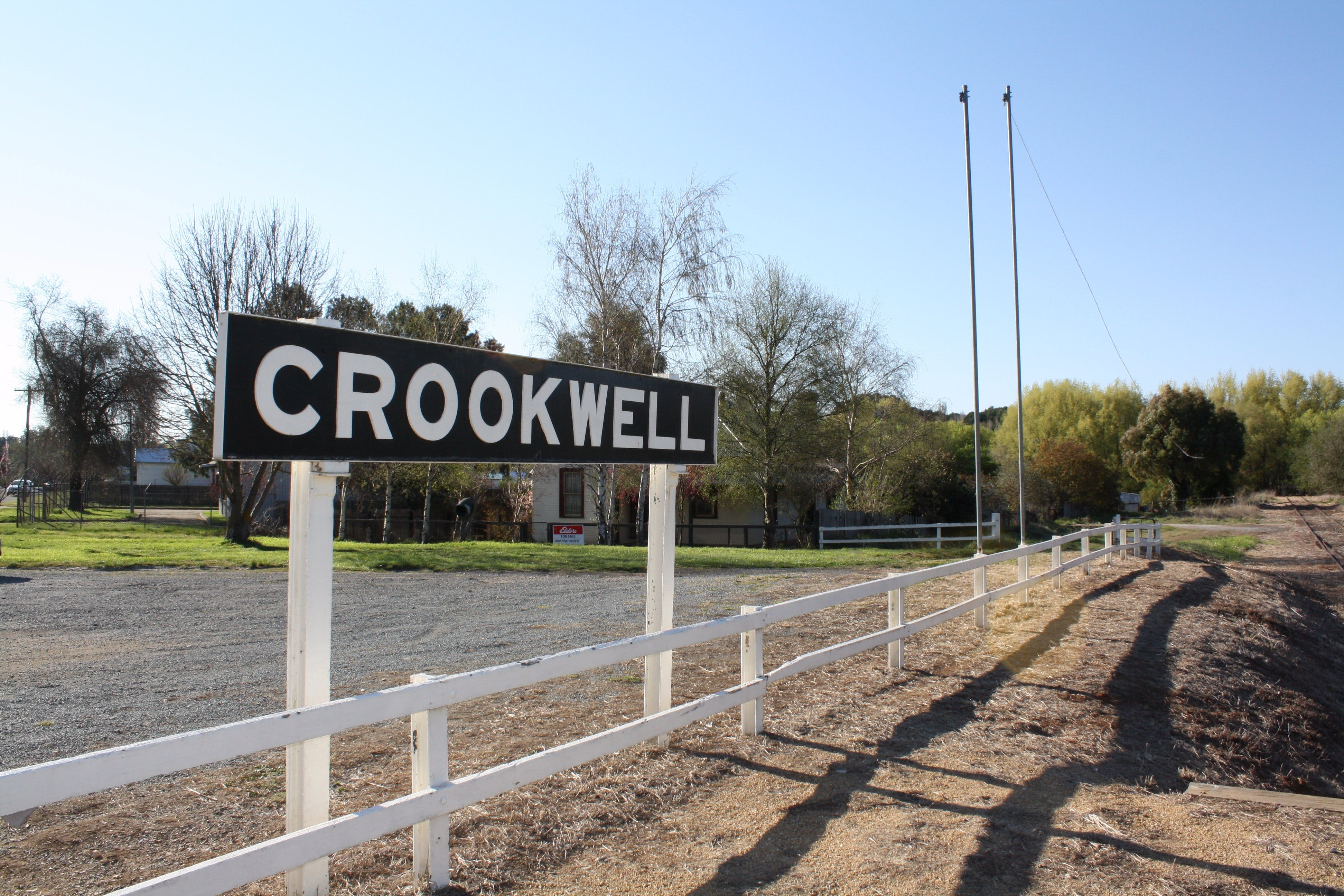 Crookwell Railway Station - Accommodation Mt Buller