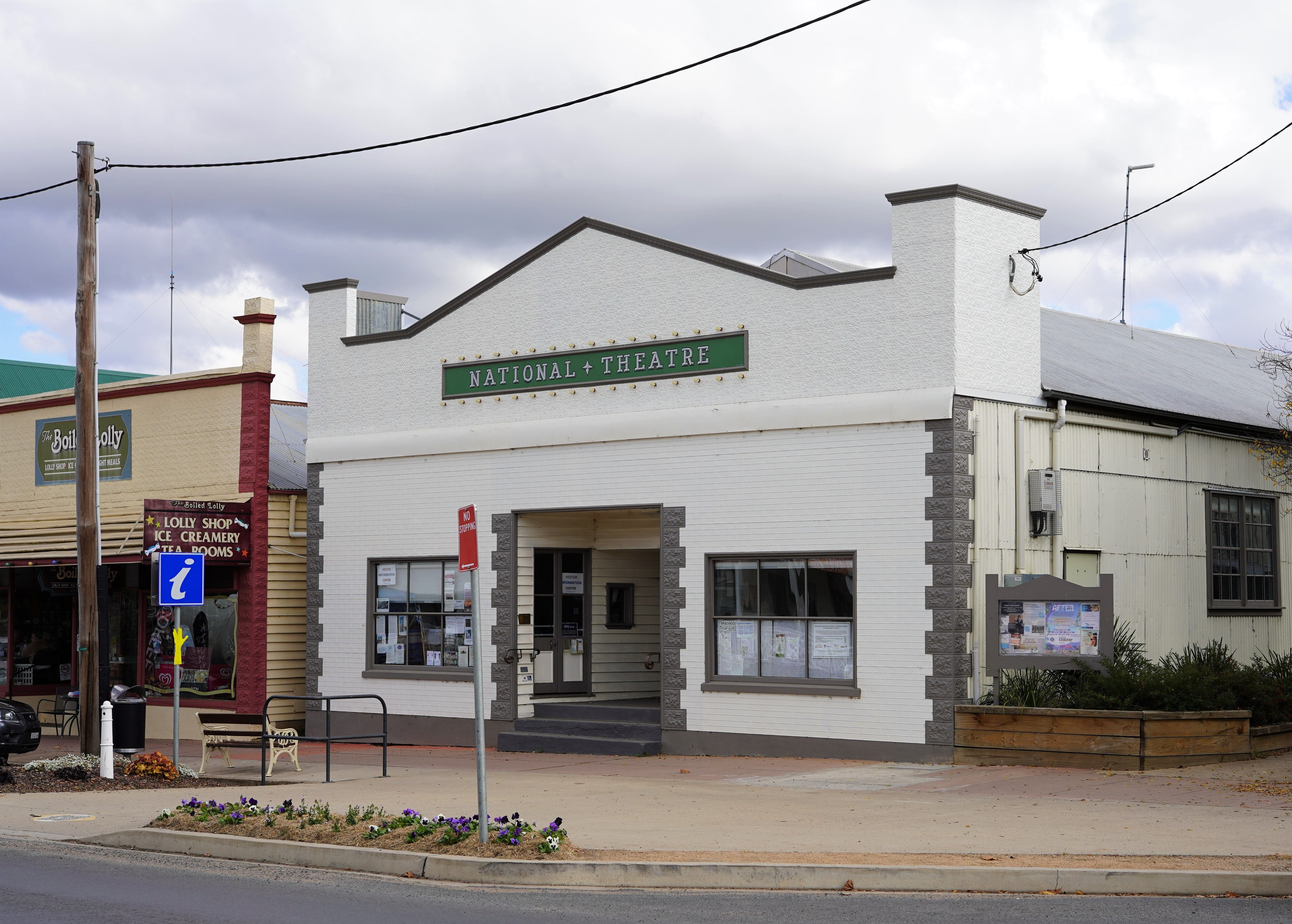 Braidwood Visitors Information Centre at the Theatre - Accommodation Mt Buller