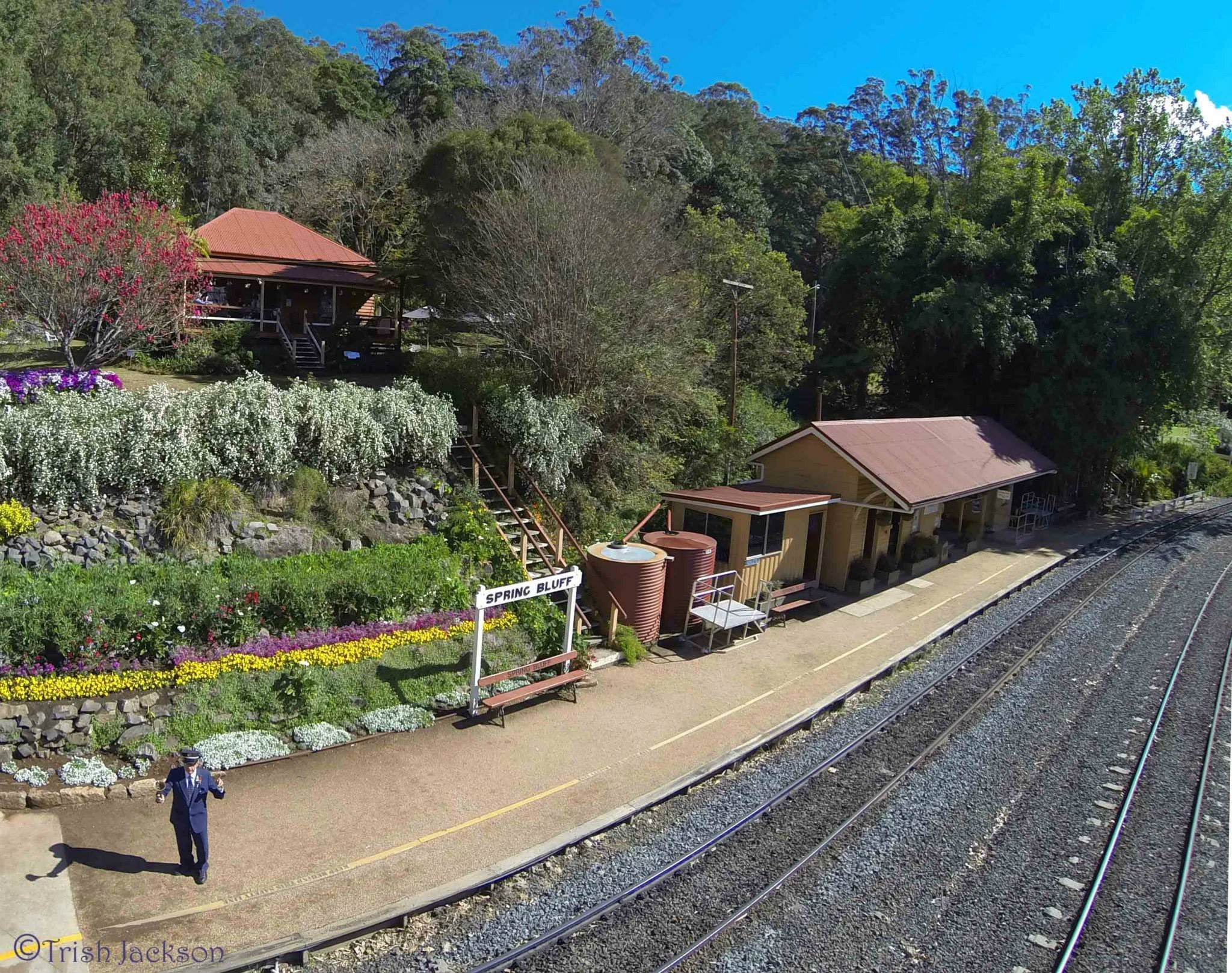 Spring Bluff Railway Station - Accommodation Mt Buller