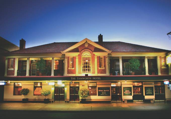 Tamworth Hotel - Accommodation Mt Buller