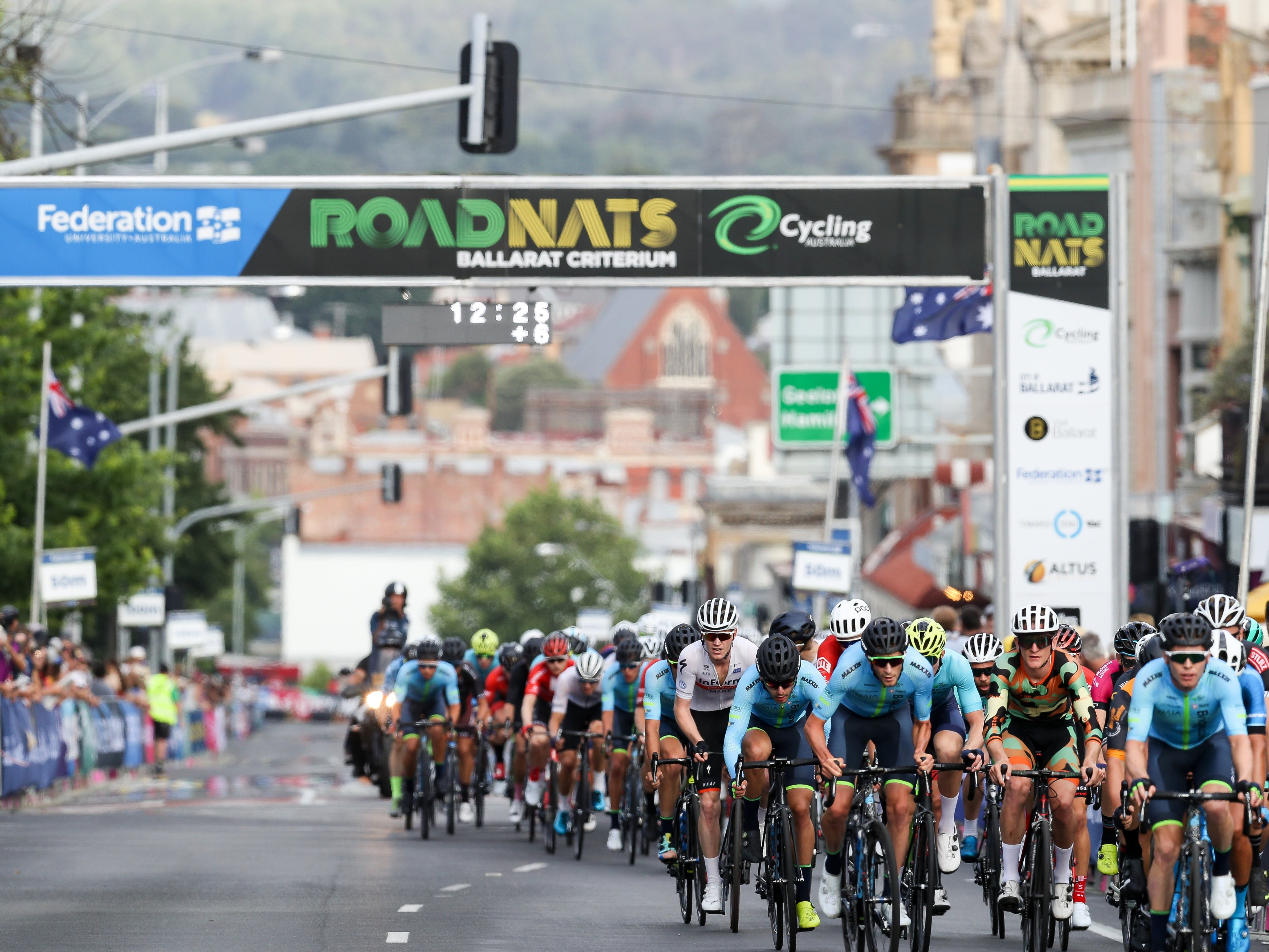 Federation University Criterium National Championships - Ballarat - Accommodation Mt Buller