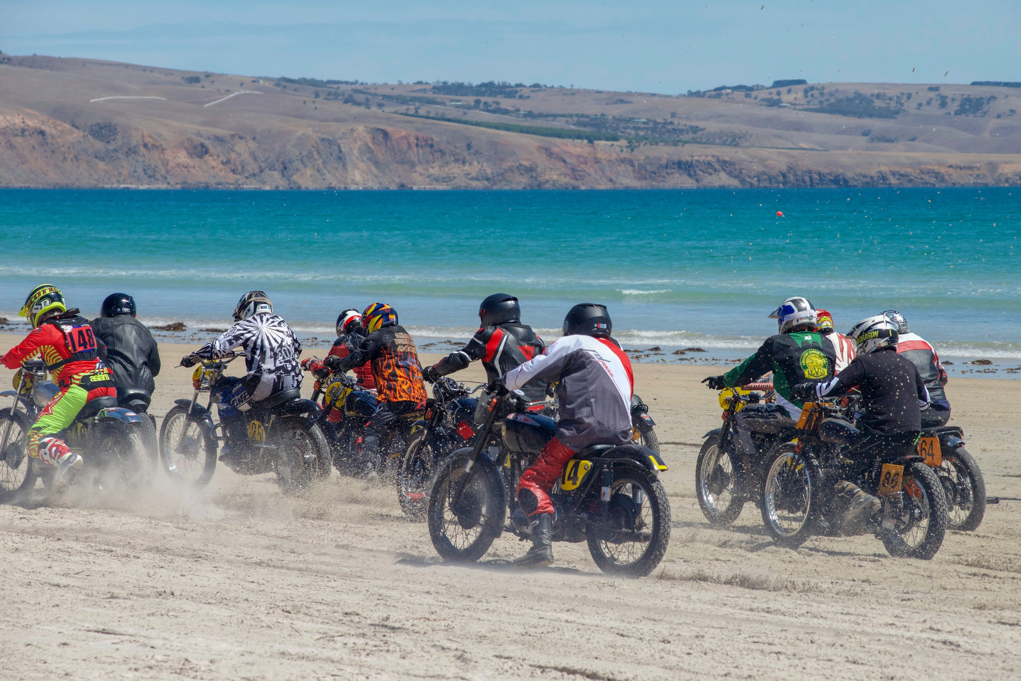 Sellicks Beach Historic Motorcycle Races - Accommodation Mt Buller