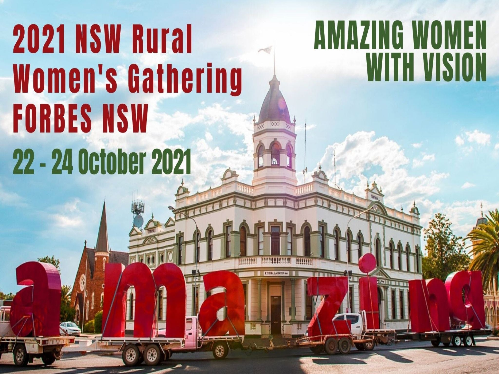 Forbes NSW Rural Women's Gathering - Accommodation Mt Buller