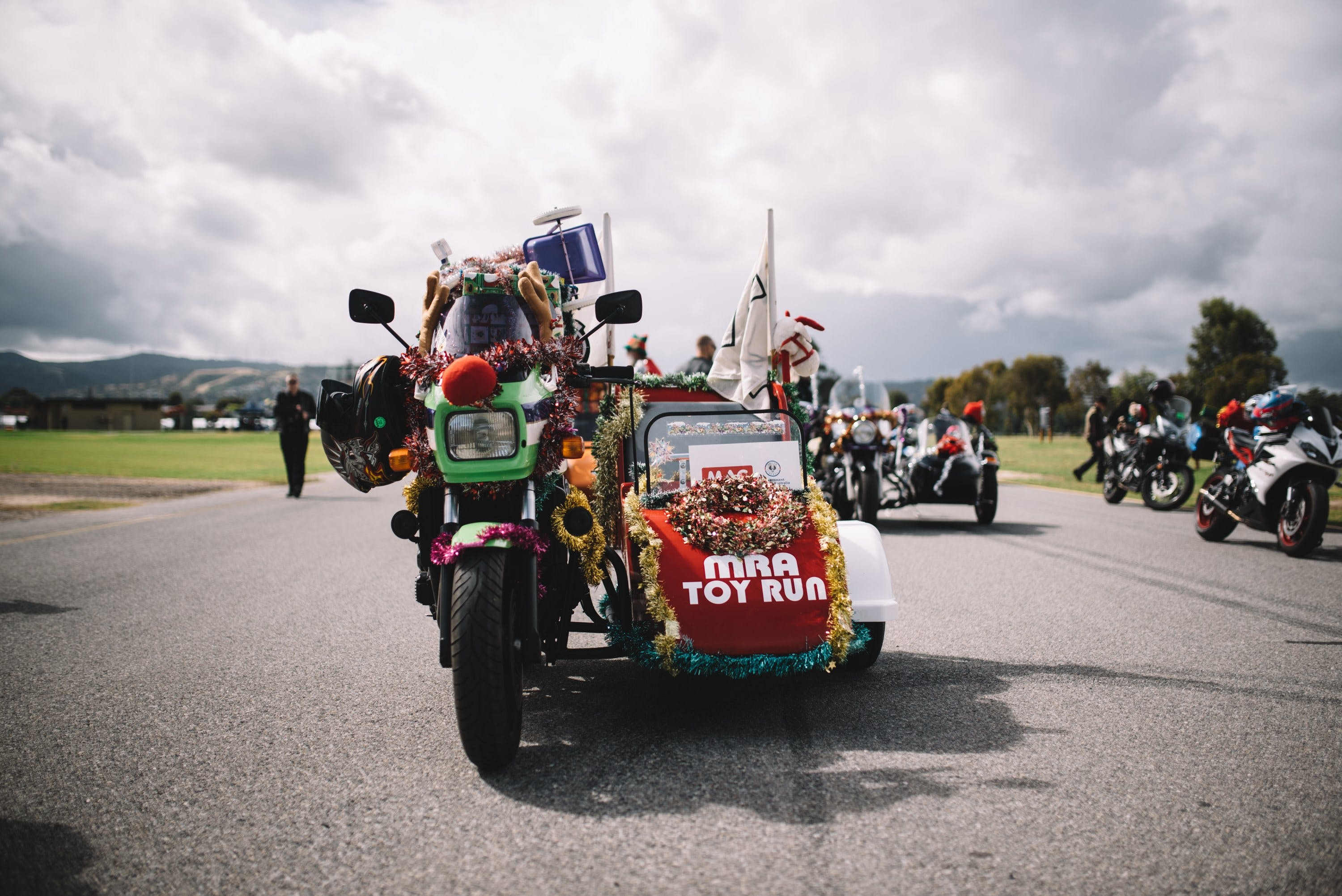 Motorcycle Riders' Association of South Australia Toy Run - Accommodation Mt Buller