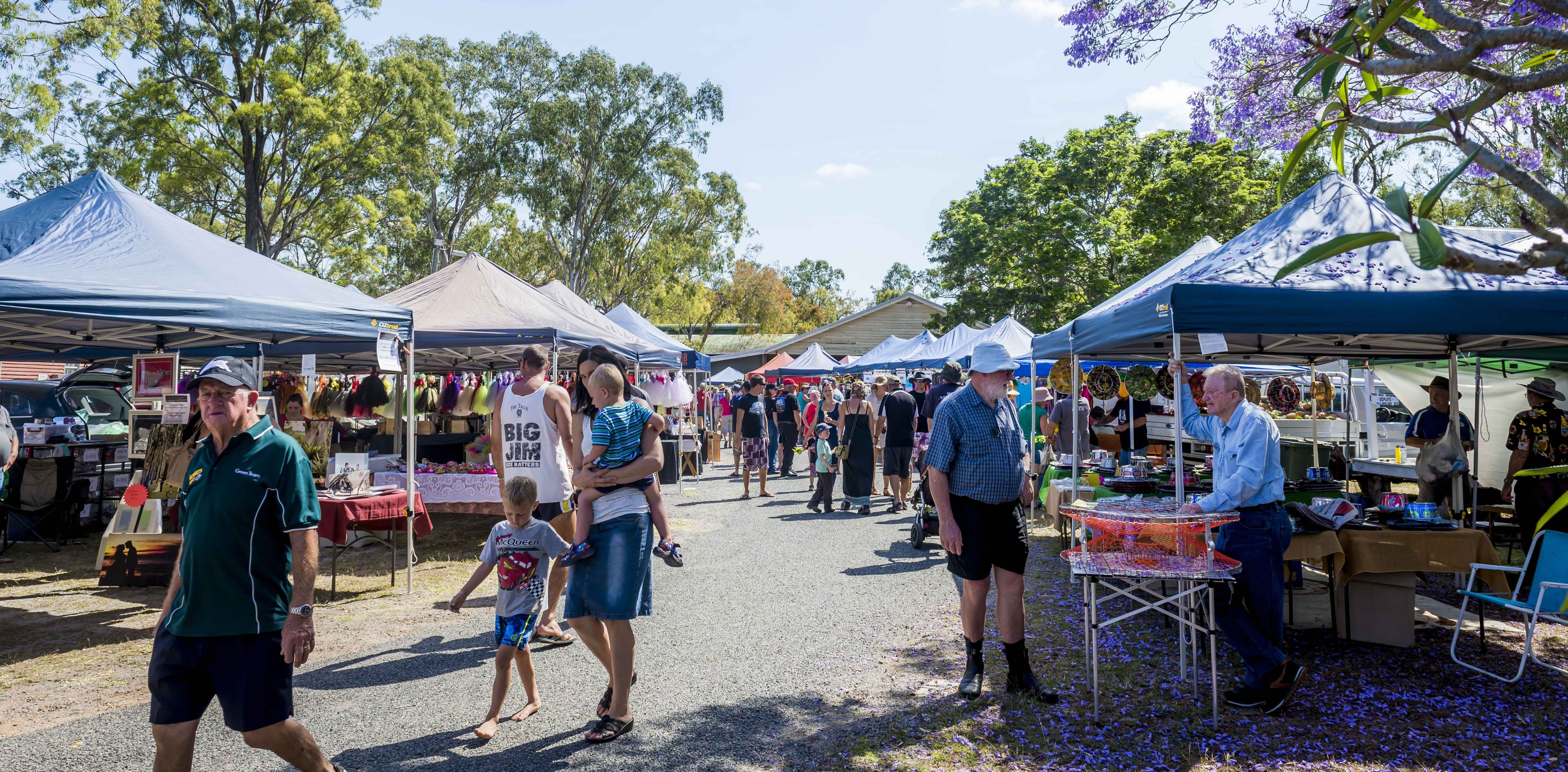 Calliope Historical Village Markets - Accommodation Mt Buller