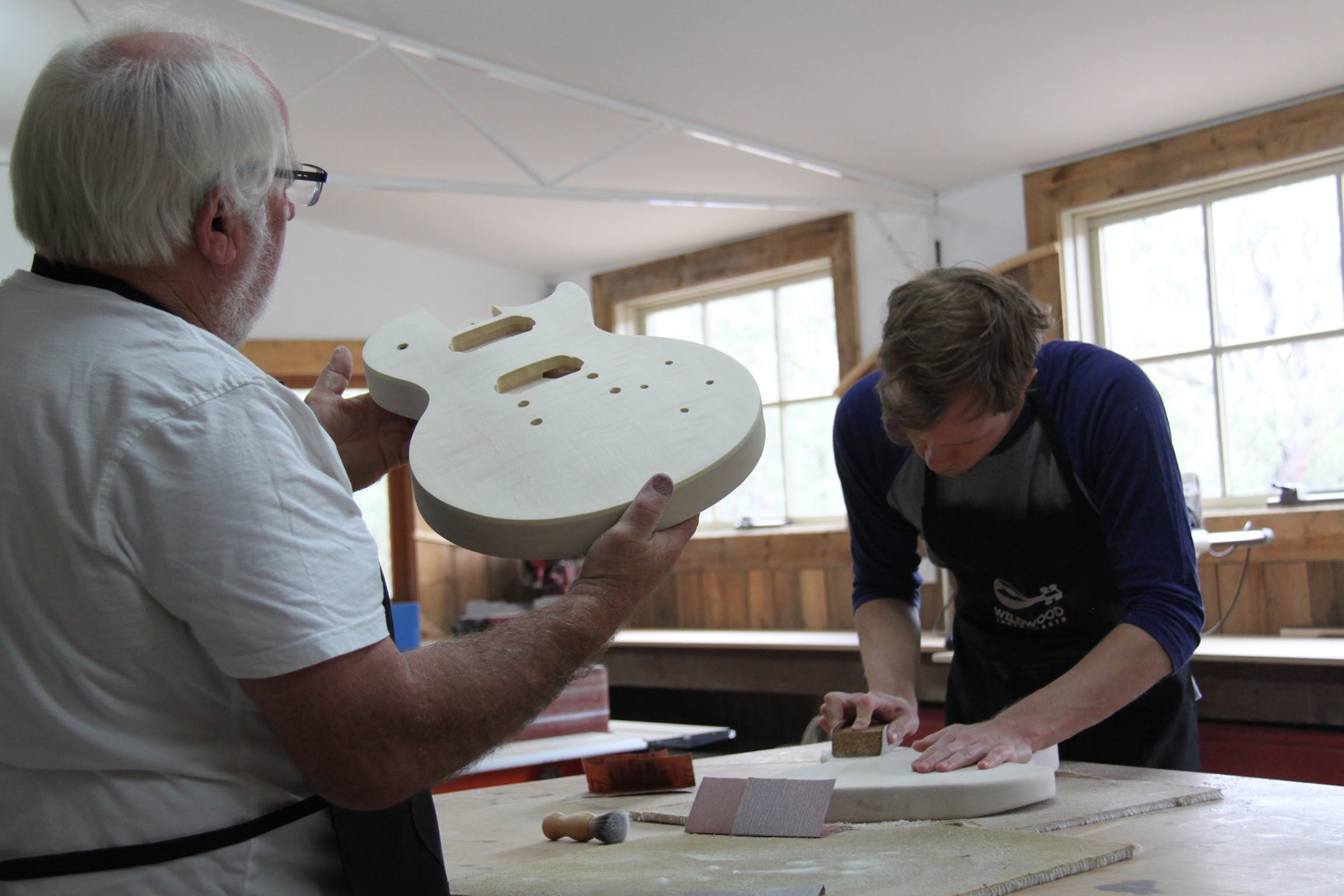 Electric Guitar Making Courses - Accommodation Mt Buller