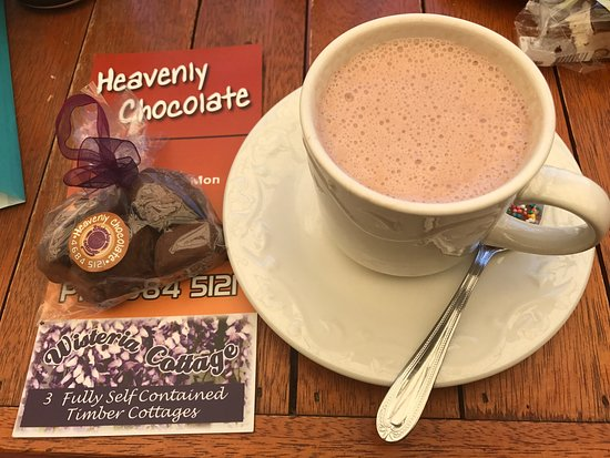 Stanthorpe's Heavenly Chocolate at Wisteria Cottage - Accommodation Mt Buller